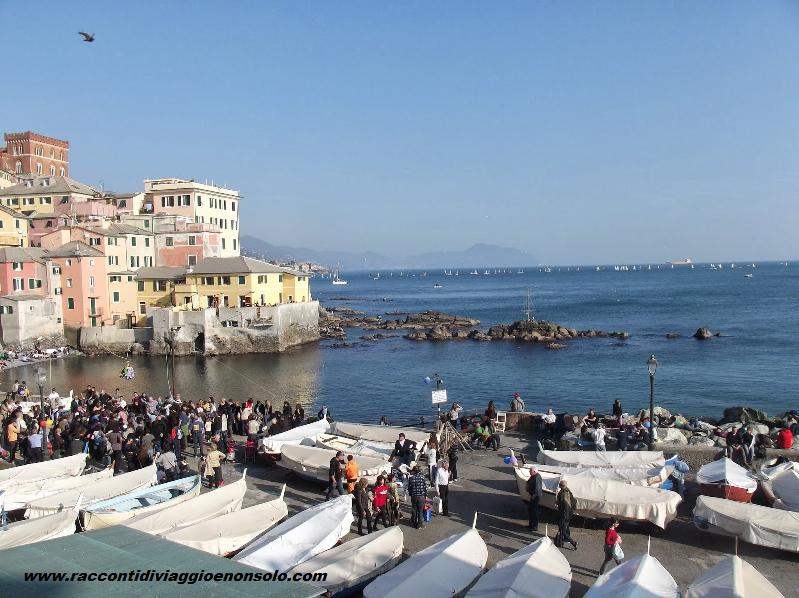 Genova il lungomare e boccadasse viaggi e vacanze di for Lungomare genova