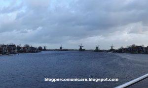 I mulini a vento nei dintorni di Amsterdam : come arrivare a #Zaanse Schans?