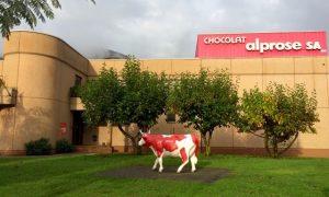 La fabbrica della cioccolata Alprose di Caslano, #Svizzera