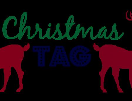 The Christmas tag !