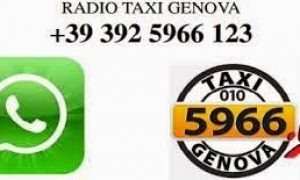 A #Genova il taxi lo chiami con Whatsapp !