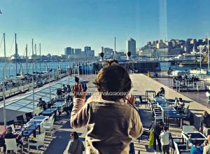Giornata al Porto Antico di Genova con bambini