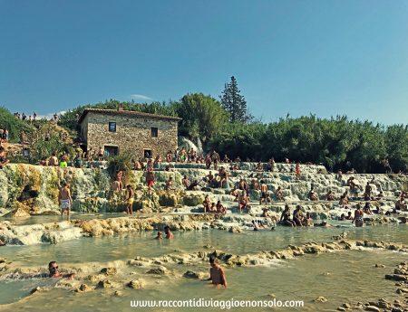 Le Cascate del Mulino a Saturnia : weekend in Maremma con bambini