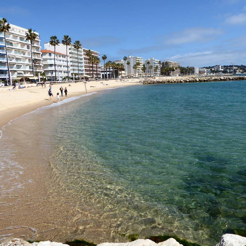 Juan les Pins - la spiaggia